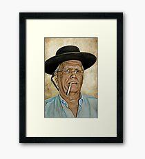 Bandito? Gringo? Framed Print