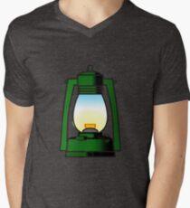 Let there be light Mens V-Neck T-Shirt
