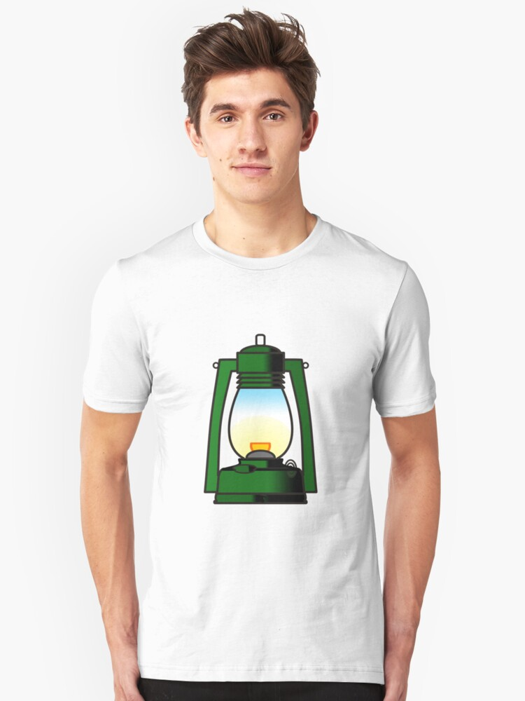 Let there be light Unisex T-Shirt Front