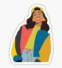 Cardi B Sticker