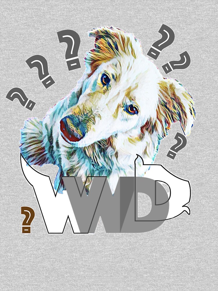 What Would Dogs Do? Mascot  by TruthTalkingTee