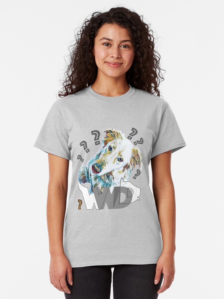 Alternate view of What Would Dogs Do? Mascot  Classic T-Shirt