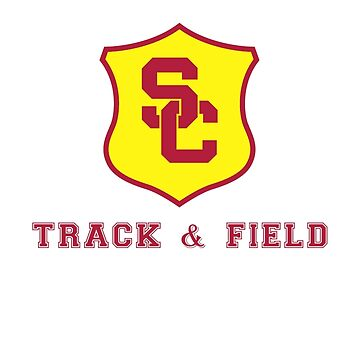 USC Track & Field (shield) by ShopGirl91706