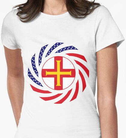 Guernsey American Multinational Patriot Flag Series T-Shirt