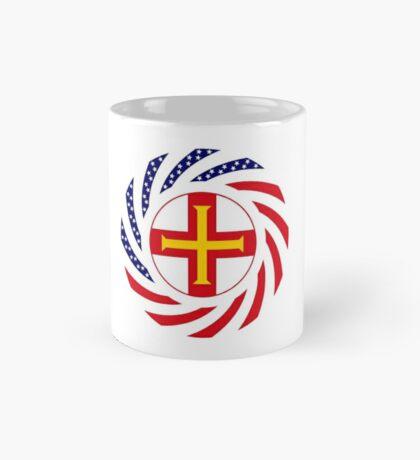 Guernsey American Multinational Patriot Flag Series Mug