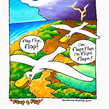 Flip 'n Flup by zombizoo