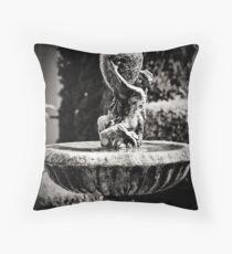 Garden sculpture Throw Pillow