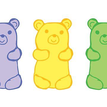 Gummy Bears by JMHurd