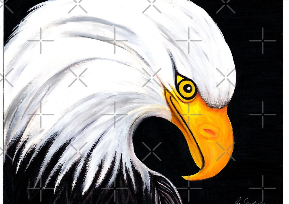 Bald Eagle by Margaret Sanderson