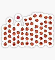 Red Beetle Sticker