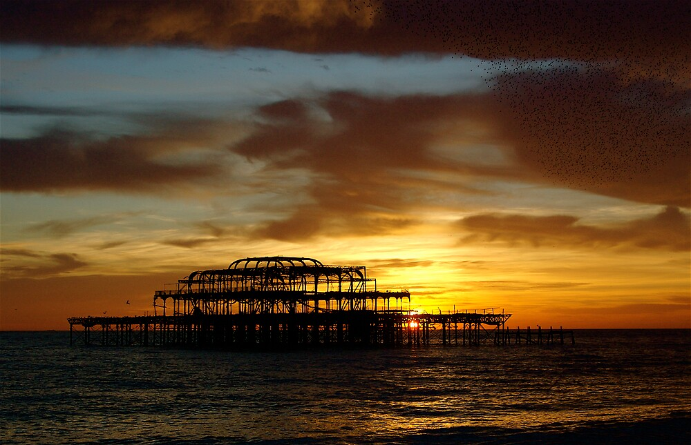 West Pier Brighton and Hove by IanHuxtable