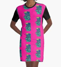 LAST Conference 2018. Hot pink. All Cities Graphic T-Shirt Dress