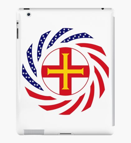 Guernsey American Multinational Patriot Flag Series iPad Case/Skin