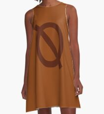 Mae Borowski Shirt - Nacht im Wald A-Linien Kleid