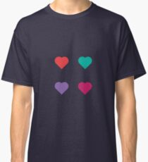 four hearts Classic T-Shirt