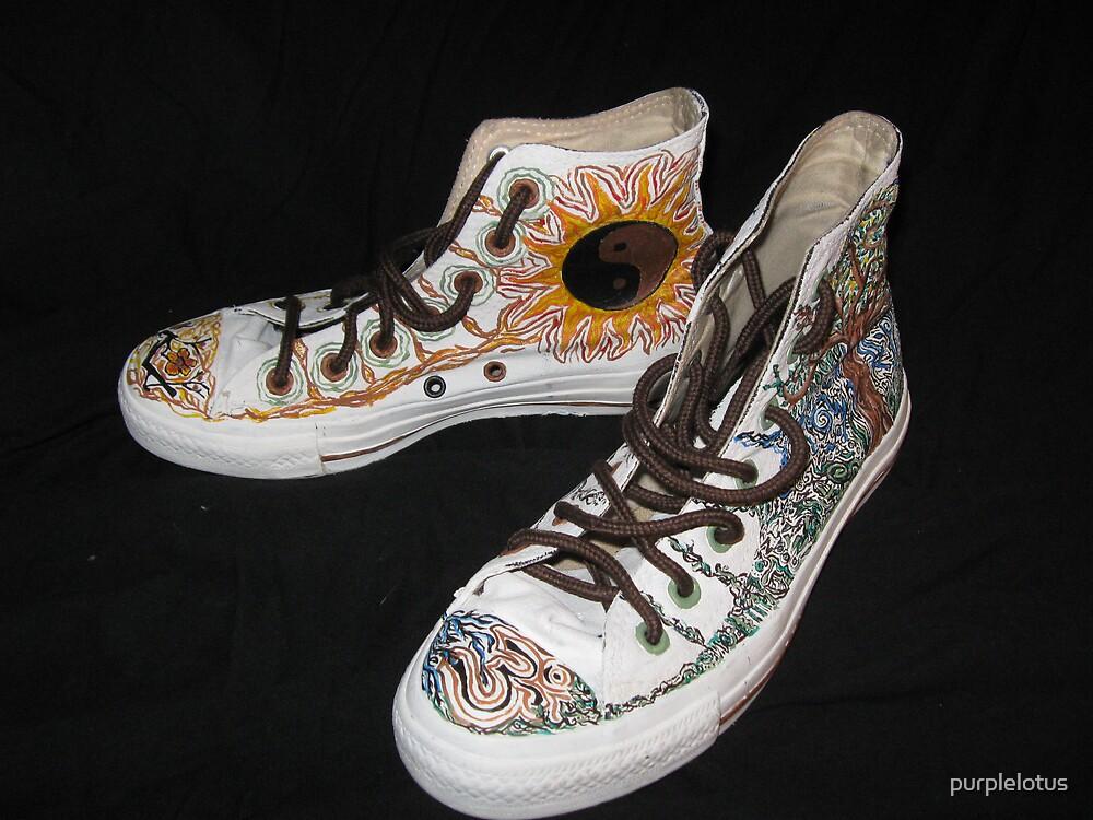 Converse Re-Made (angle 2) by purplelotus