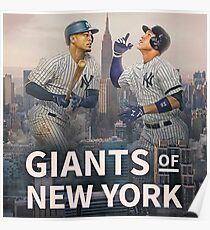 Giants of NY Poster