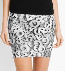 ABCs Mini Skirt