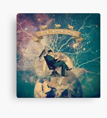 Goodnight, Tesla Canvas Print