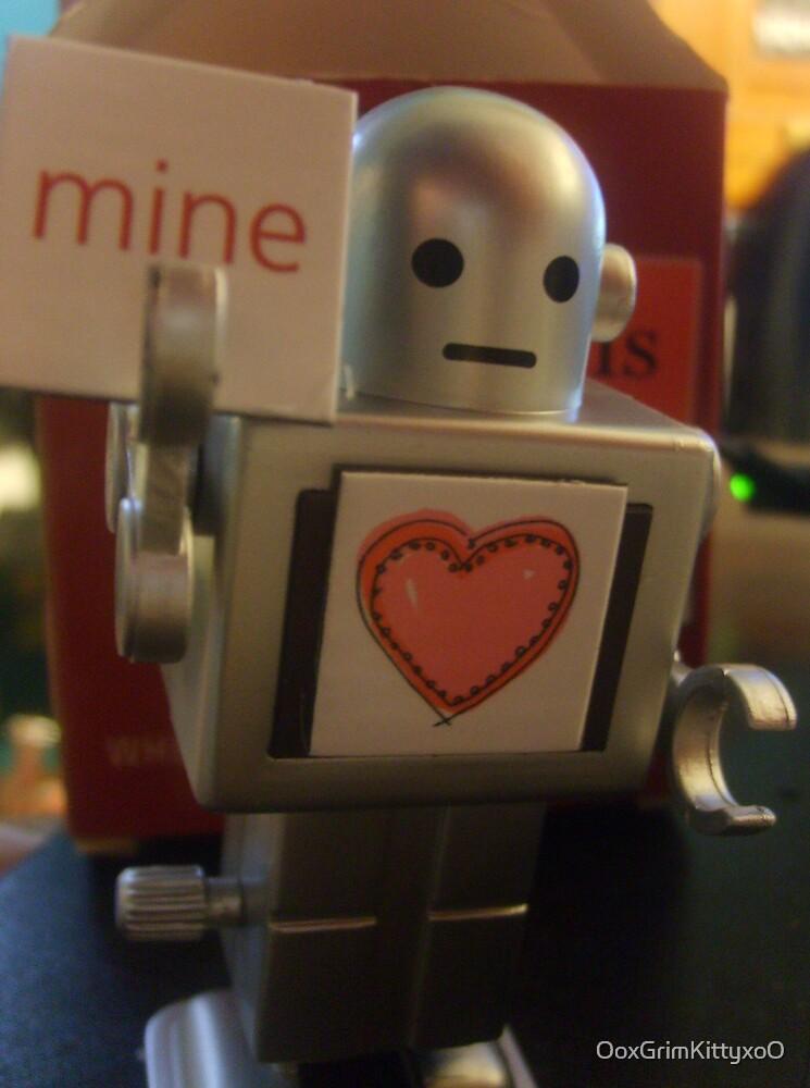 Mine Robot by OoxGrimKittyxoO