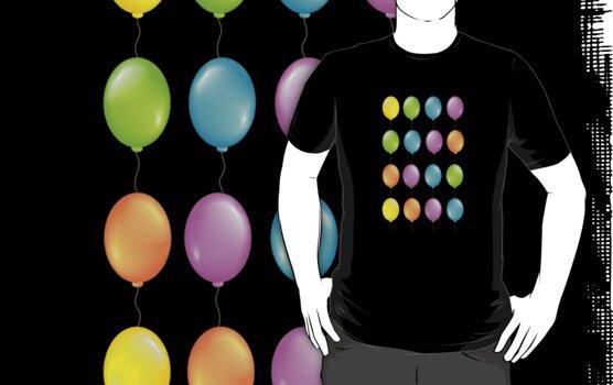 Helium Balloons Birthday Party Clowns Funny Celebration