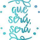 Que Será, Será (blau) von its-anna