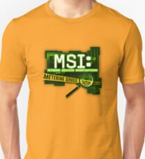 MSI: Metering Services Investigations T-Shirt
