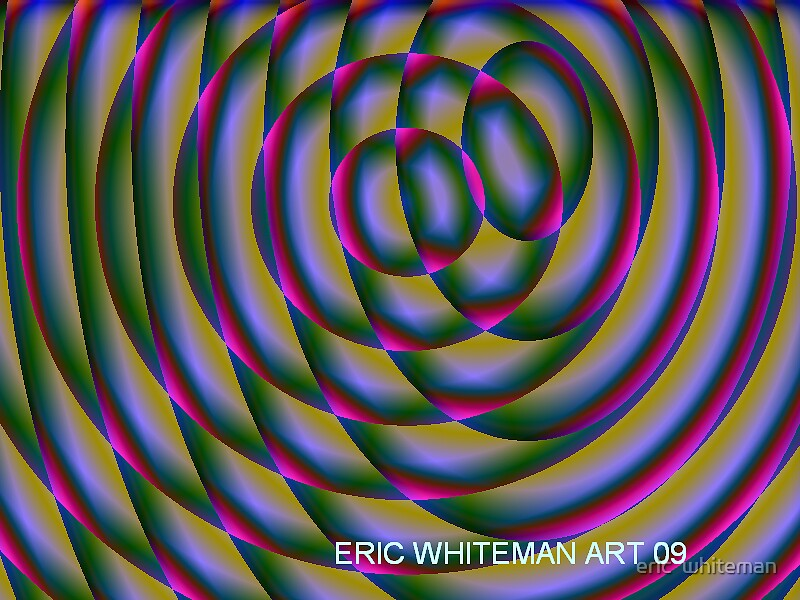 (OUTSIDE ) ERIC WHITEMAN ART  by eric  whiteman