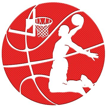 Dunkin' Basketball (red) by rogerpmit2