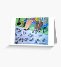 Sunday Breakfast... in the park Greeting Card