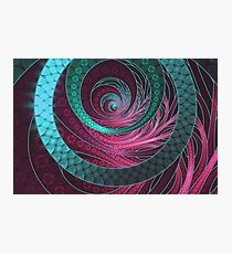 Abstract Bangles of Very Berry Bubblegum Bands Photographic Print