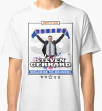 Glasgow Rangers Steven Gerrard Classic T-Shirt