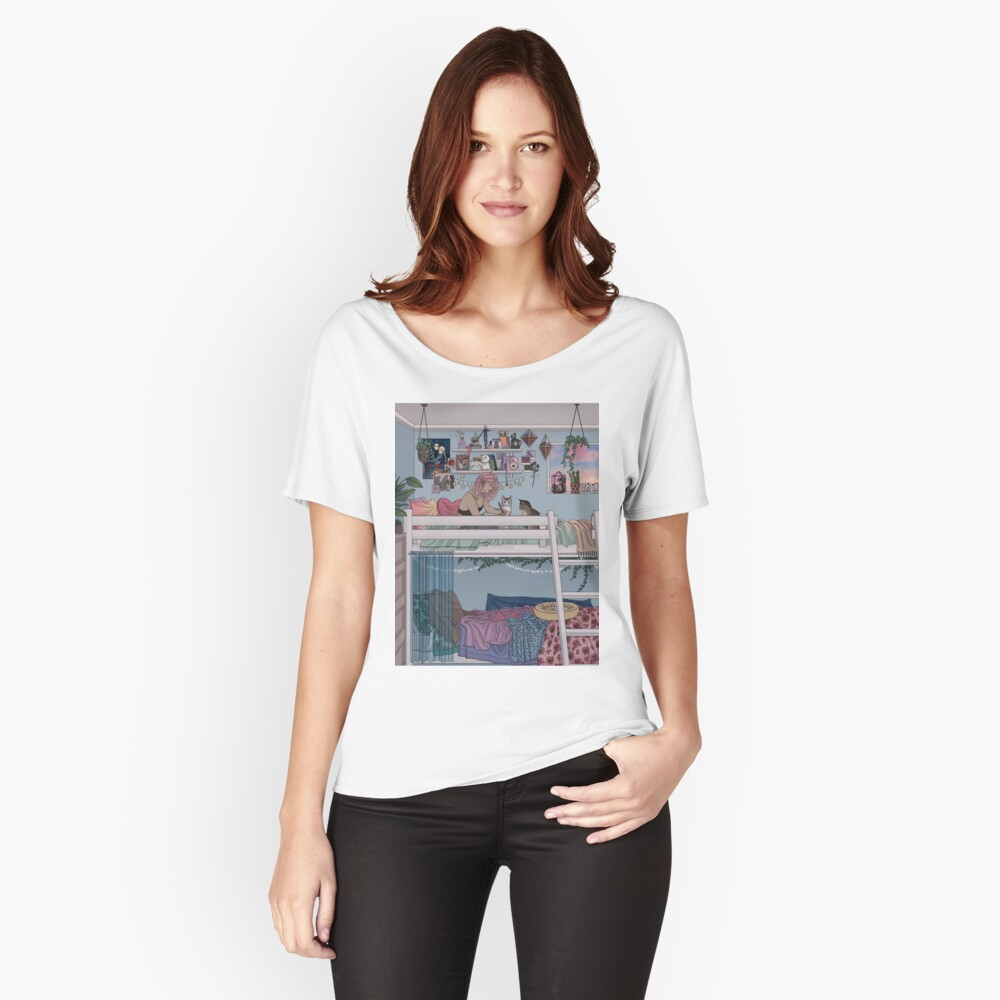 Pastell Daydreams Loose Fit T-Shirt