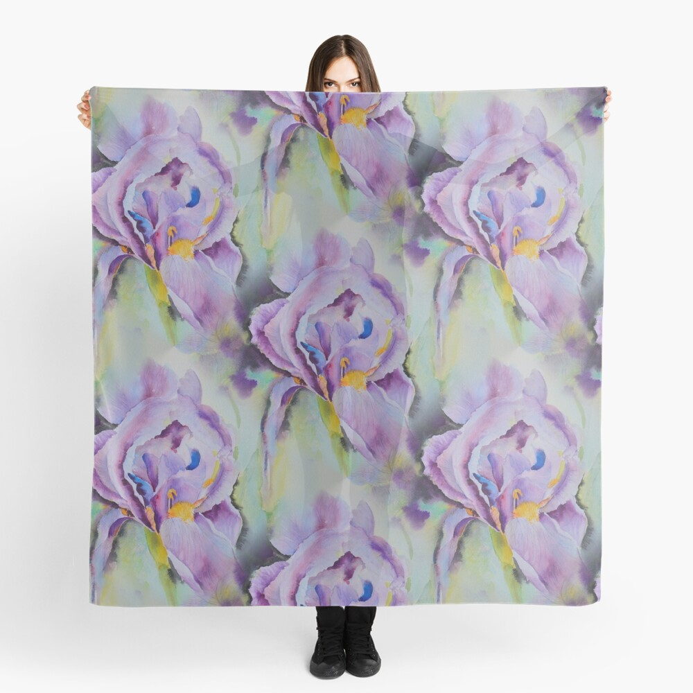 The purples Scarf