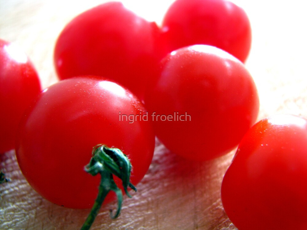 little tomatoes by ingrid froelich