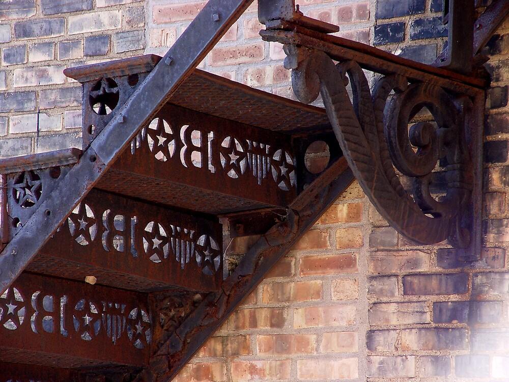 Used Stairway by Dennis Burlingham