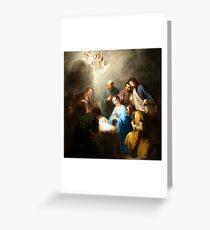 Nativity Gathering Greeting Card