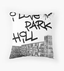I Love Park Hill Throw Pillow