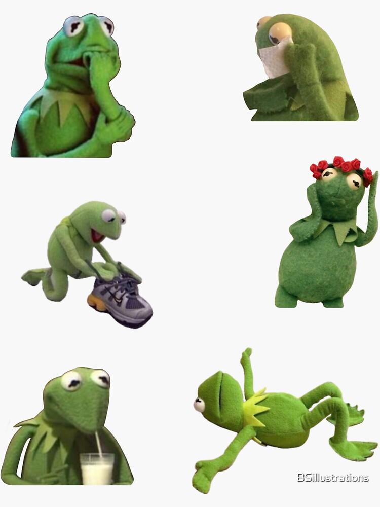 Kermit Meme Set 2 de BSillustrations