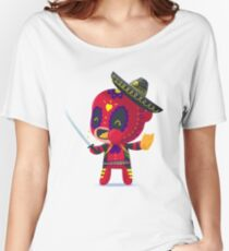 Snarky Muerto - Day of the Dead Mashup Women's Relaxed Fit T-Shirt