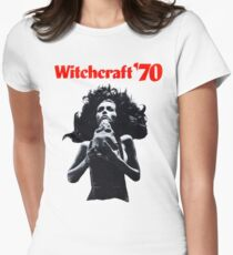 Witchcraft '70 movie shirt! Women's Fitted T-Shirt