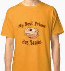 Bearded Dragon Head Classic T-Shirt