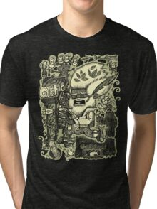 Ye Old Legend Of Rock, Circa 1843 Tri-blend T-Shirt