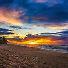 Sunset Beach by Kana Photography
