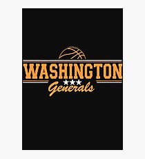 Washington Generals Quote Photographic Print