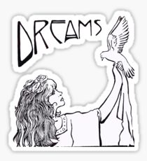 Stevie Nicks- Art Nouveau Style- B&W Sticker