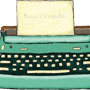 Typewriter by Kuhtina