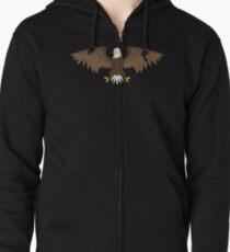 Eagle coat of arms bird Zipped Hoodie