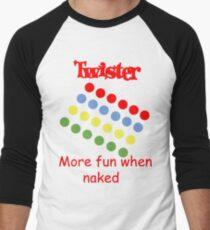 Twister  Men's Baseball ¾ T-Shirt