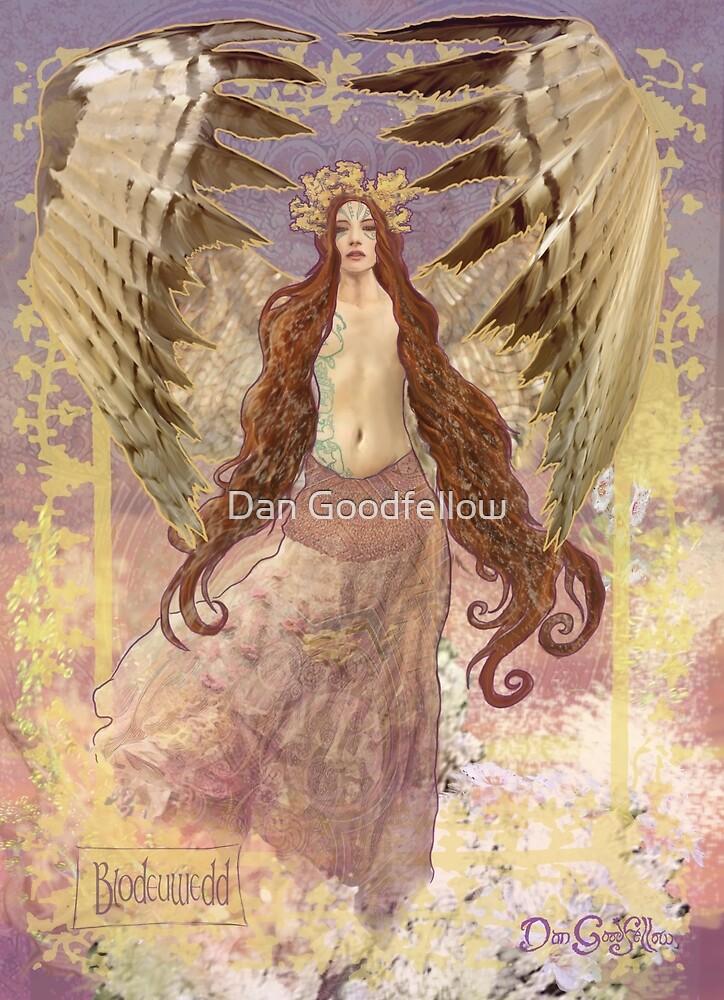 Celtic Goddess - Bloduewedd by Dan Goodfellow
